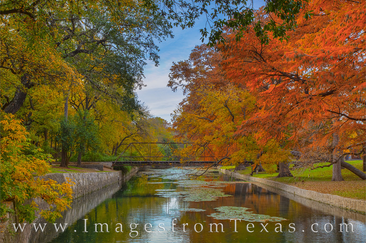 brackenridge park, san antonio, san antonio river, parks, fall colors, photo