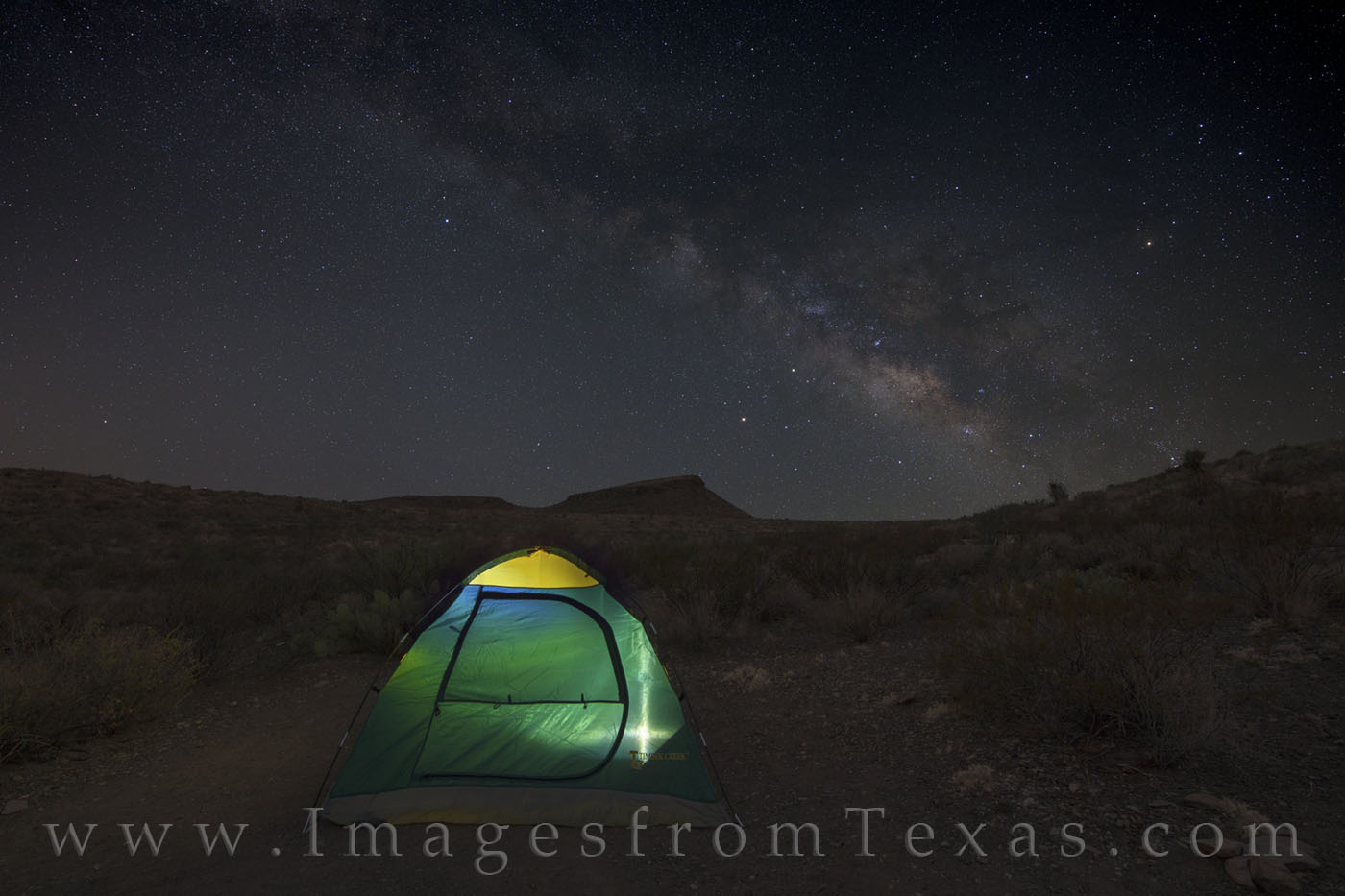 tent, camping, milky way, big bend, big bend ranch, chihuahuan desert, stars, landscape, solitude, alone, remote, photo