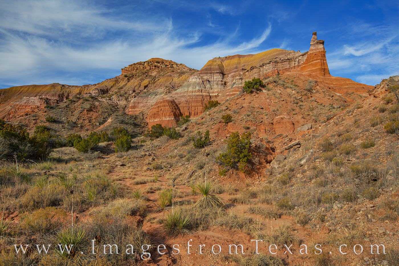 capitol peak, palo duro canyon, texas panhandle, hiking, exploring, texas state parks, capitol peak loop, photo