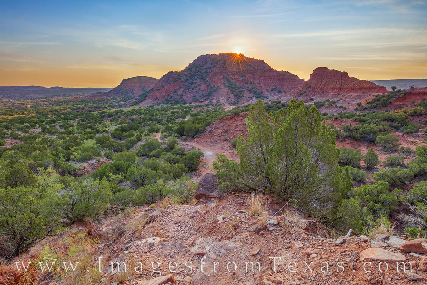 caprock canyons state park, hiking, trail, sunrise, caprock canyons prints, morning, texas state parks, west texas, photo