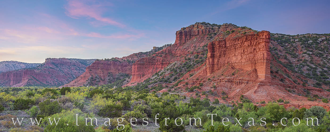 caprock canyons, sunset, south prong, hiking, panorama, west texas, caprock canyons prints, solitude, photo