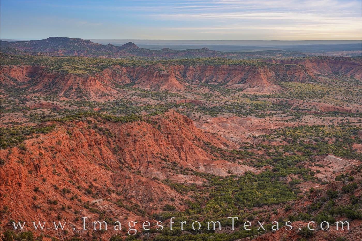 caprock canyon prints, caprock canyons state park, haynes ridge overlook, morning, sunrise, orange, state parks, texas landscapes, west texas, hiking, exploring, photo