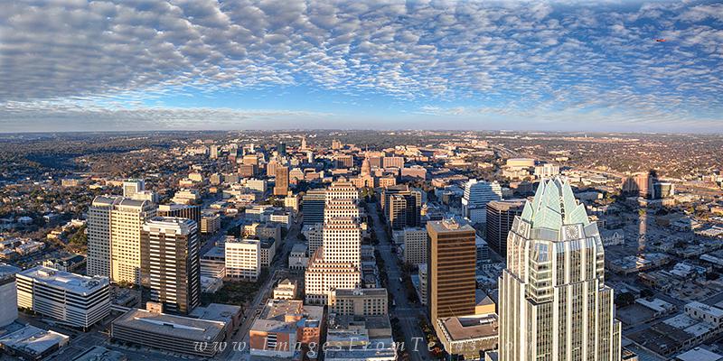 Texas State Capitol,Austin pano,Congress avenue image austin,frost bank tower,austin cityscape, photo