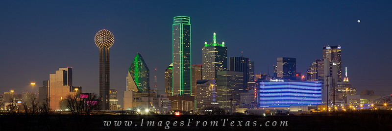 dallas pano,dallas texas panorama,reunion tower,dallas skyline,dallas texas cityscape, photo