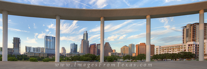 austin skyline panorama,downtown austin pano,austin texas images,long center view,austin skyline photos, photo