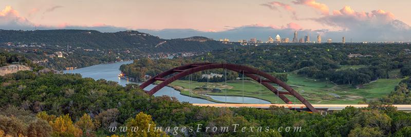 360 Bridge pano,360 bridge prints,pennybacker bridge panorama,pennybacker bridge pictures, photo