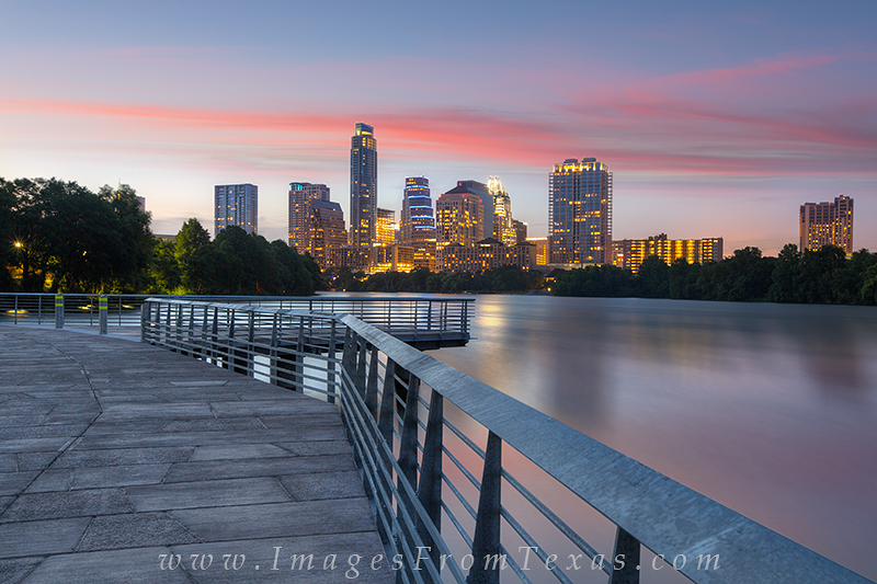 austin cityscape,austin boardwalk images,lady bird lake,downtown austin,austin texas images, photo