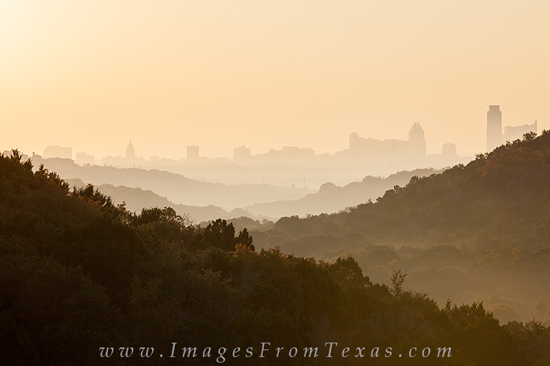 austin in fog,austin skyline in fog,downtown austin,texas cities, photo