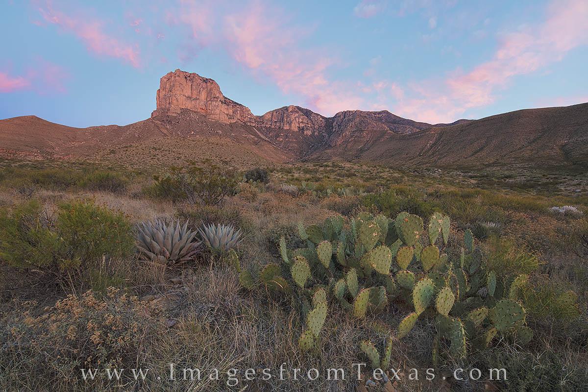 guadalupe mountains, guadalupe mountains national park, el capitan, el capitan trail, texas landscape, texas sunrise, west texas images, texas national parks, texas photos, photo