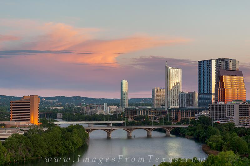 austin skyline photos,lady bird lake,austin sunrise,austin texas pictures, photo