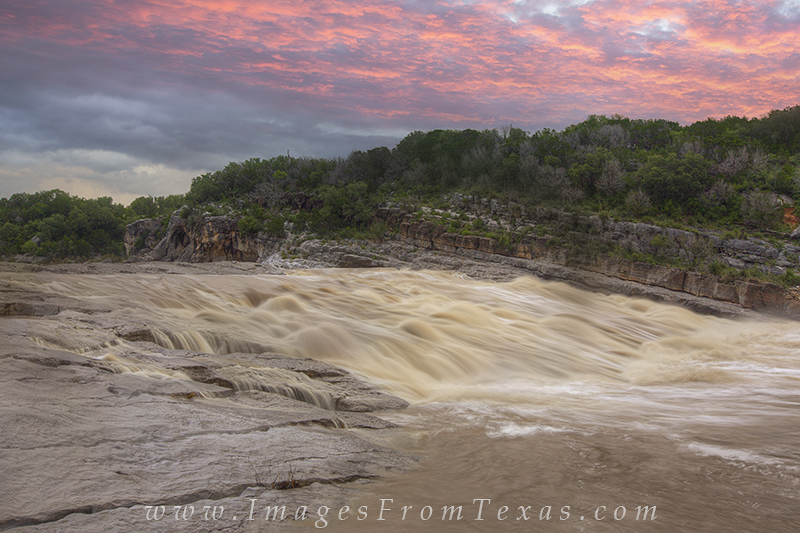 texas hill country floods,pedernales falls state park,pedernales river,texas flooding,texas landscapes,texas sunrise,texas hill country,prints, photo