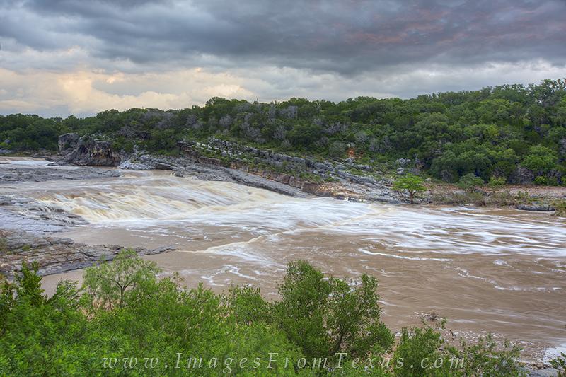 Flood on the Pedernales River 7 | Pedernales Falls State ...