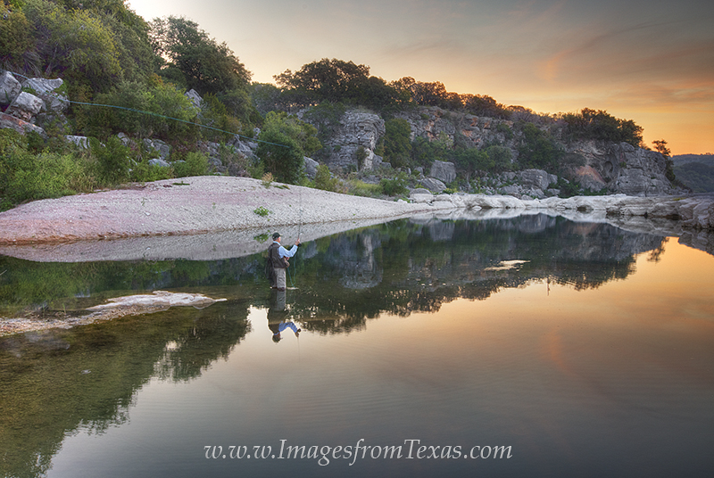 fly fishing images,texas fly fishing,texas hill country,pedernales river,pedernales falls,texas fly fishing images,fly fishing in texas, photo