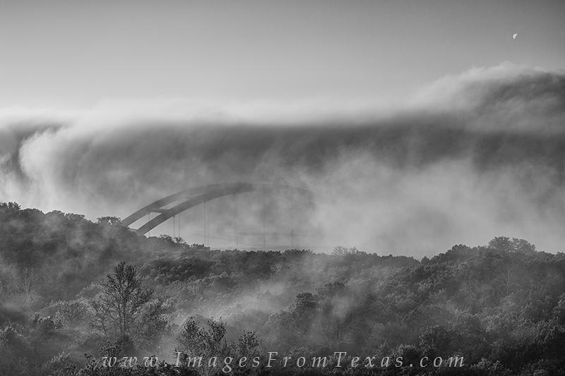 black and white,360 bridge images,pennybacker bridge images,texas bridge,texas in black and white, photo
