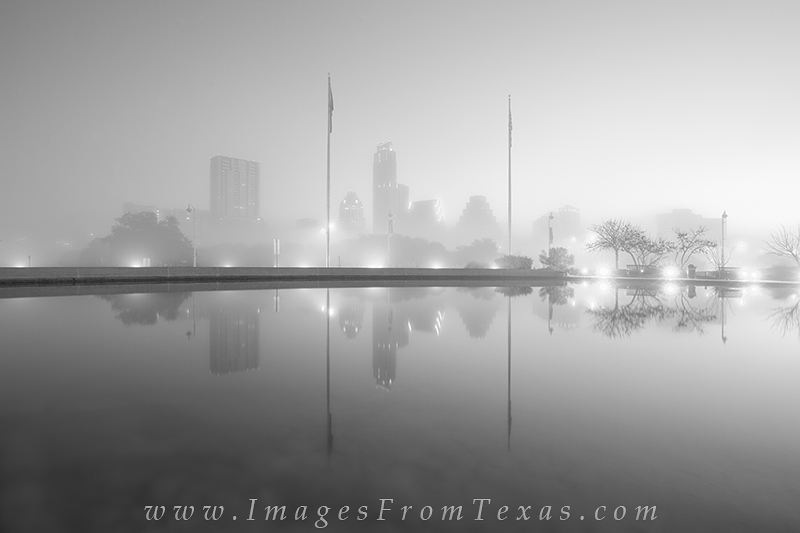 austin black and white images,texas images,austin skyline,black and white, photo