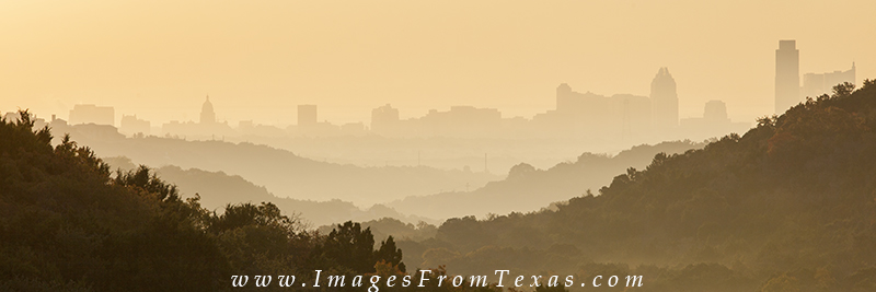 austin skyline panorama,downtown Austin,Texas, photo