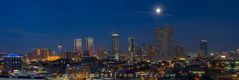 fort worth texas,ft worth texas panorama,ft worth texas skyline,ft worth cityscape, photo