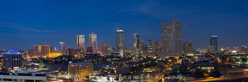 ft worth texas,ft worth image,fort worth skyline,fort worth panorama, photo