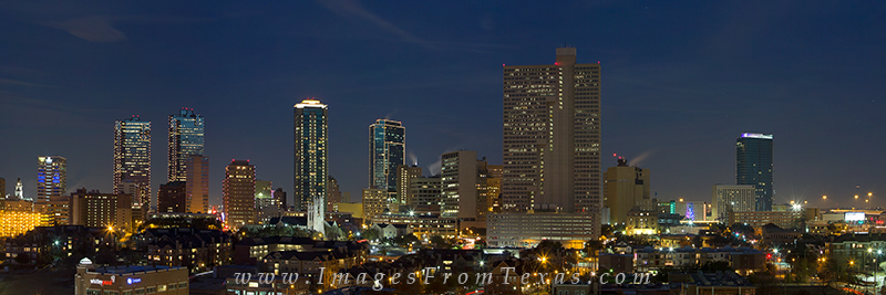 fort worth skyscrapers,downtown ft worth,ft worth prints,ft worth skyline prints,ft worth pictures, photo