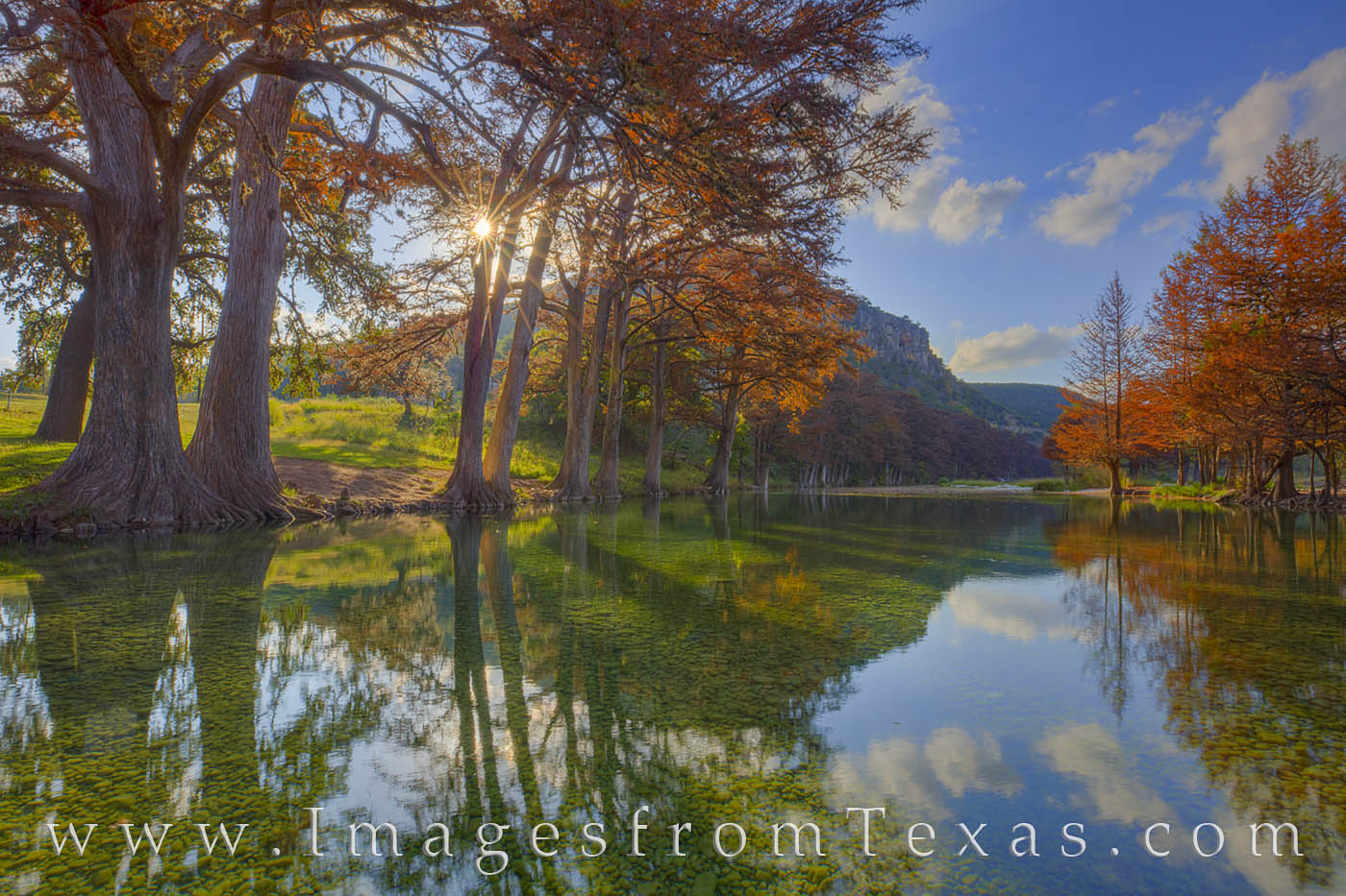 texas hill country, frio river, leakey, sunset texas sunset, mount baldy, texas fall, fall colors, autumn, autumn colors, texas rivers, frio, frio images, garner state park, photo