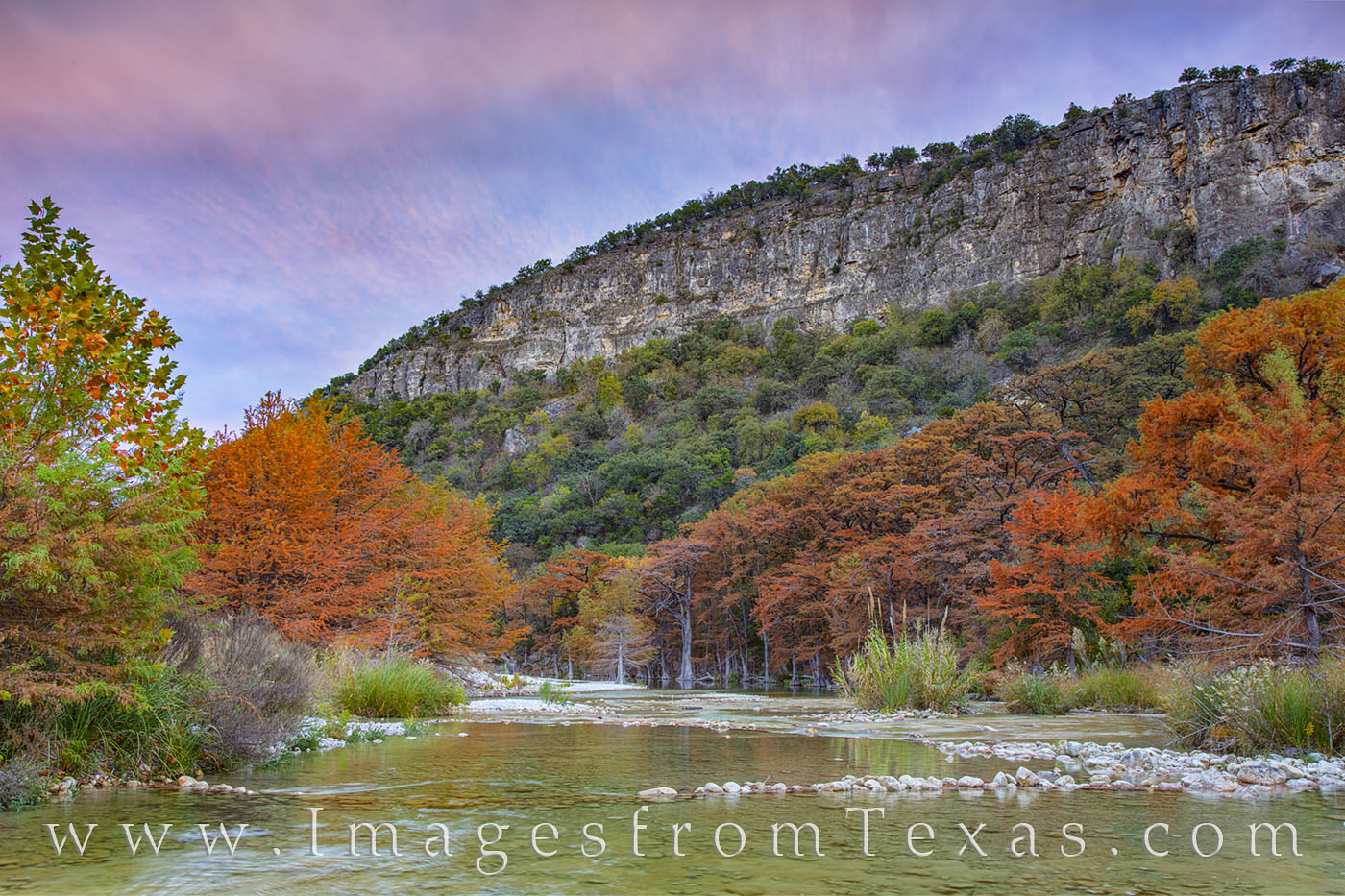 frio river, garner state park, old baldie, fall, autumn, cypress, oak, fall colors, november, cold, photo