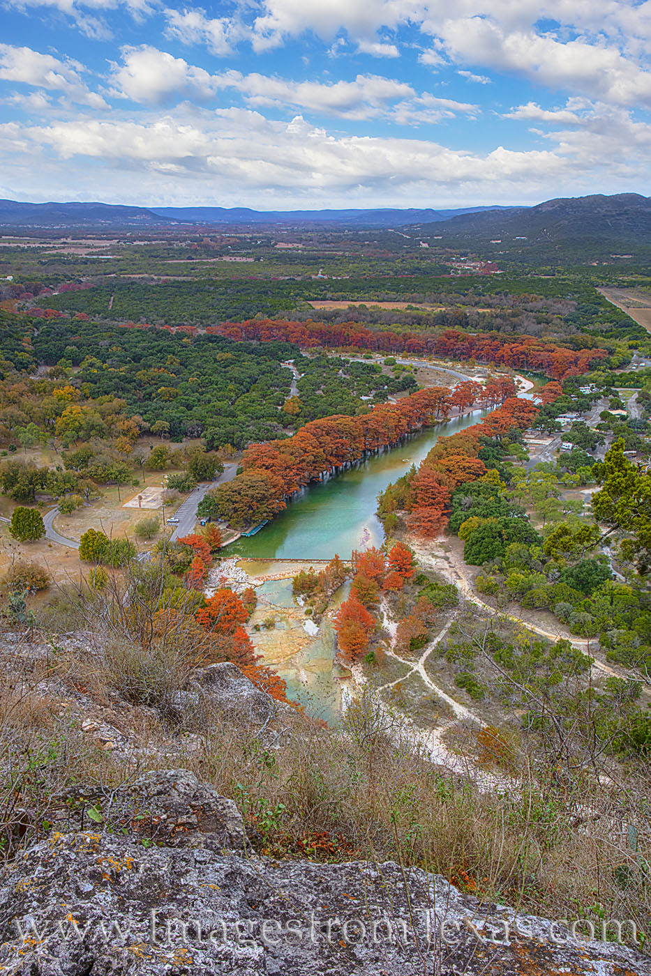 old baldie, frio river, garner state park, texas state parks, autumn, fall, november, fall colors, photo