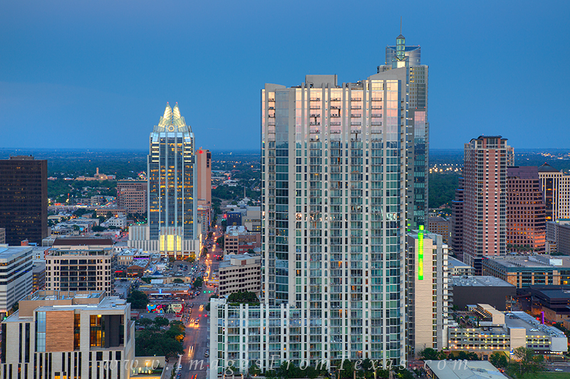 The 360 Condos and the Frost Tower are two important structures that add to the beuatiy the Austin skyline. Both are featured...