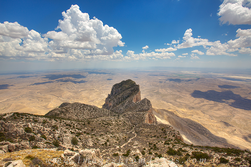 From Guadalupe Peak, the tallest point in Texas, you have a commanding view of the Chihuahuan desert and especially the iconic...