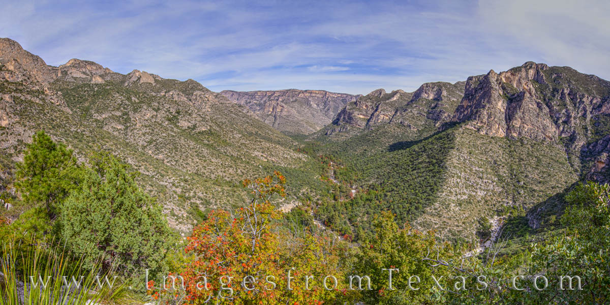 guadalupe mountains, mckittrick canyon, hiking, the notch, fall, autumn, exploring texas, texas prints, photo
