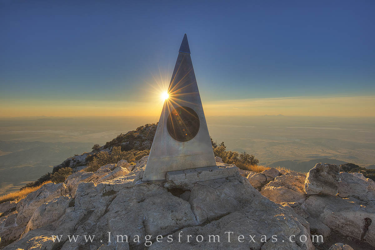 guadalupe peak, texas tallest peak, highest point in texas, guadalupe mountains, guadalupe mountains national park, texas national parks, west texas, photo