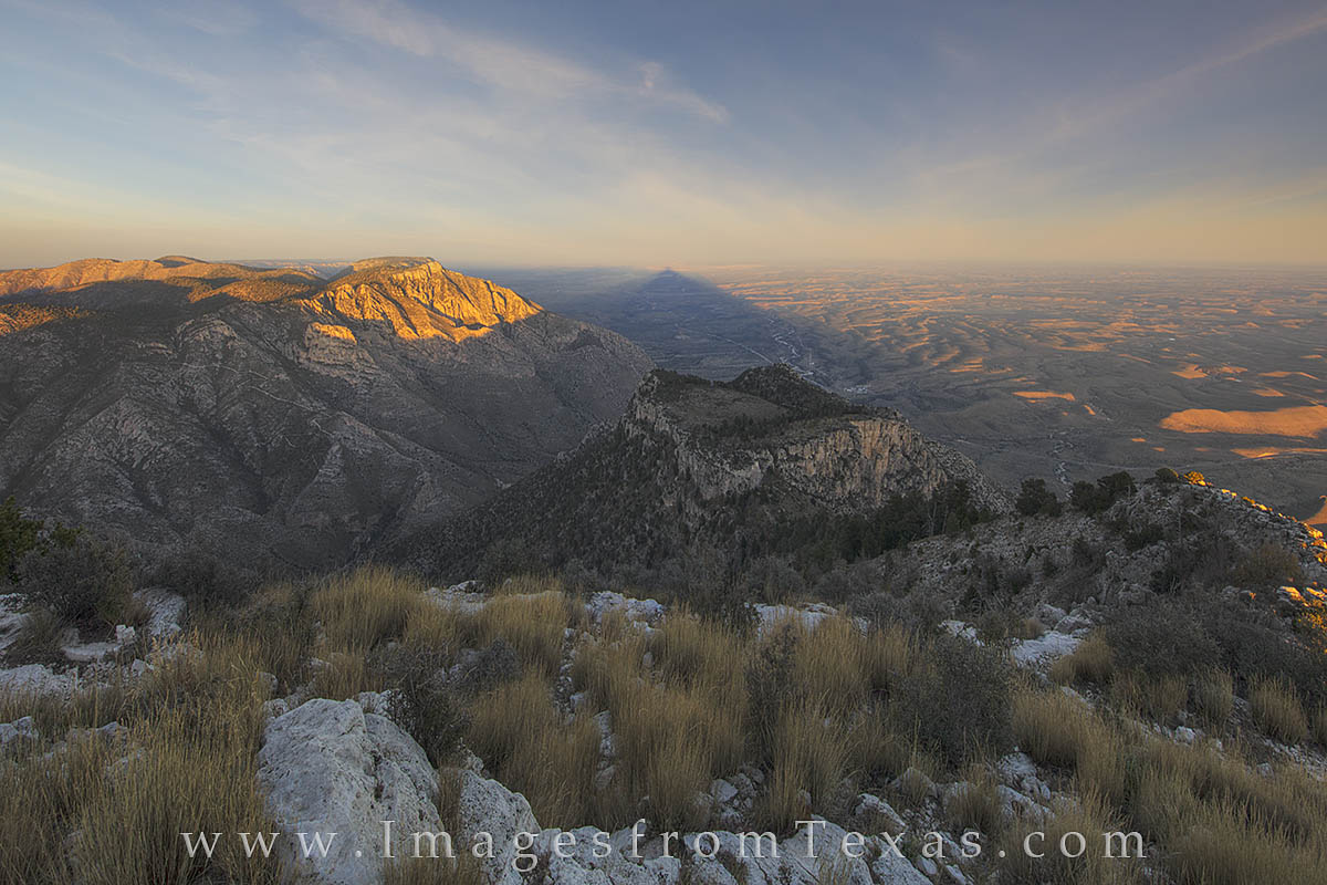 guadalupe peak, guadalupe mountains national park, texas national parks, chihuahuan desert, texas landscapes, photo