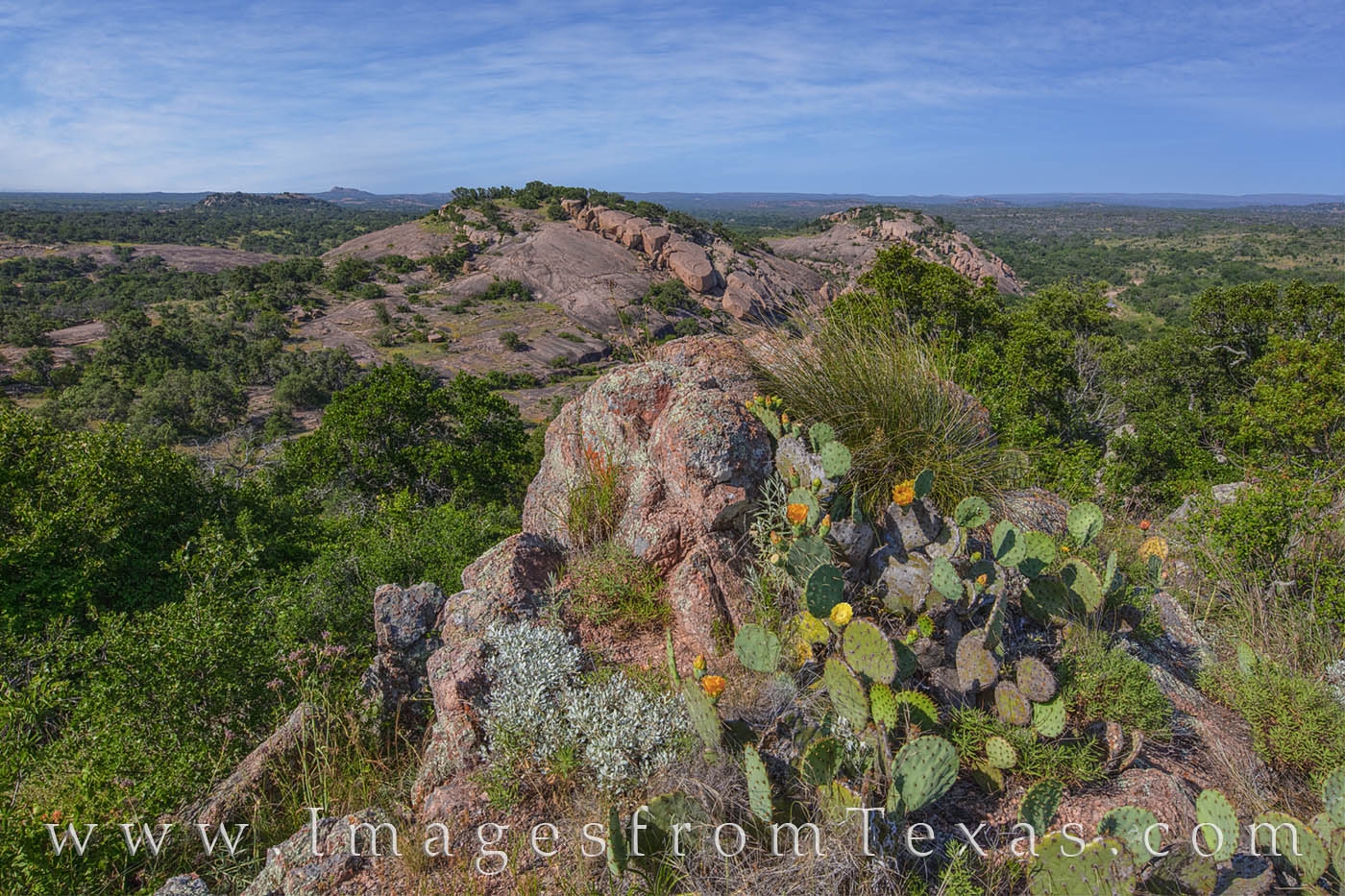 turkey peak, freshman mountain, buzzard's roost, enchanted rock, texas hill country, spring, photo