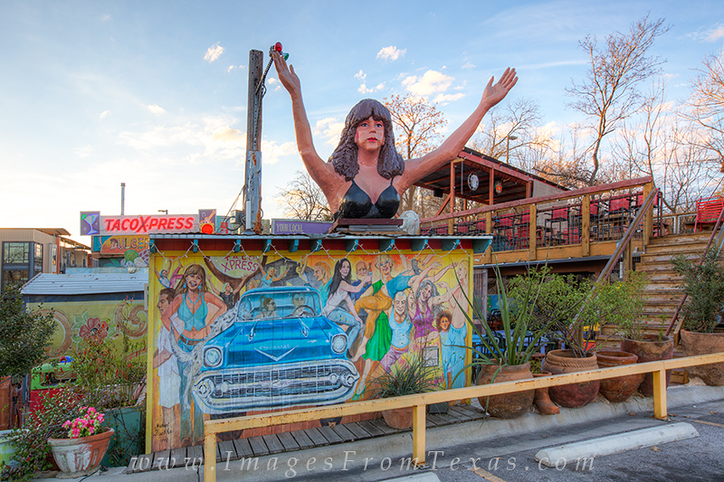 South Congress,Austin texas images,Austin prints,taco express, photo
