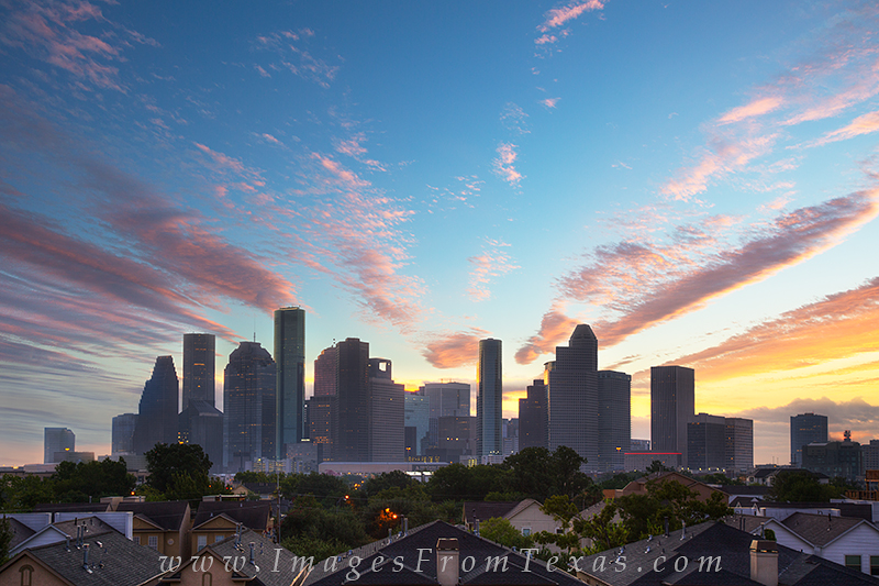 houston skyline images,houston skyline prints,houston cityscape,houston texas skyline, photo