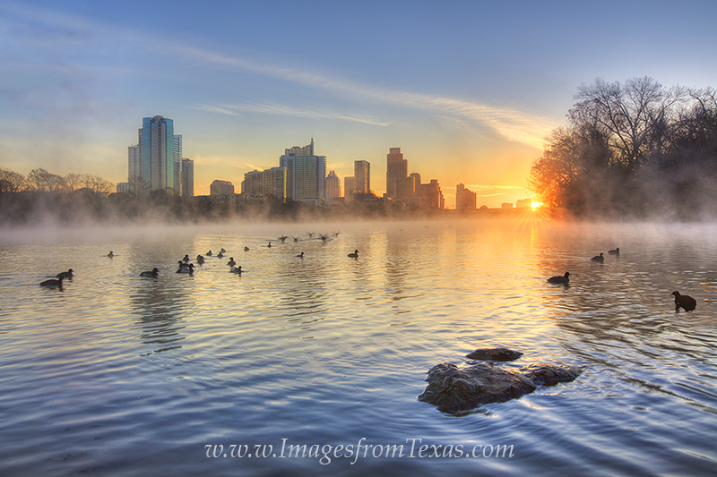 austin sunrise,lady bird lake,austin texas images,austin skyline photos,sunrise over austin,austin texas,austin skylines,zilker park, photo