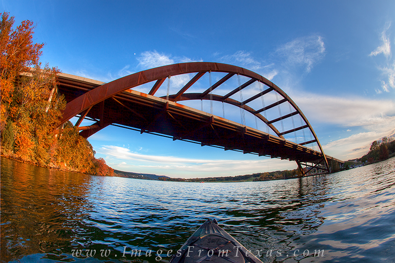 pennybacker bridge,kayaking in austin,austin texas bridges, photo