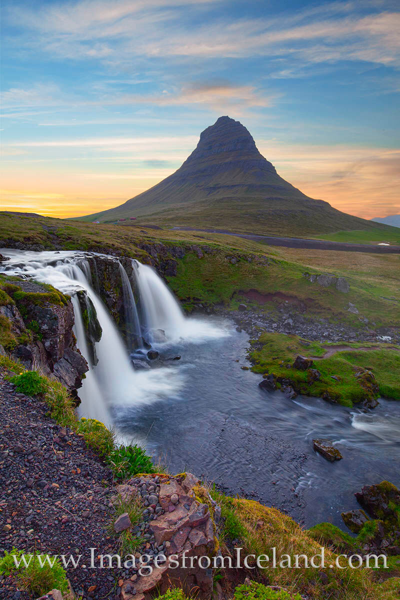 Kirkjufell Mountain is one of my favorite places to practice my trade in Iceland. The long summer nights with perfect light make...