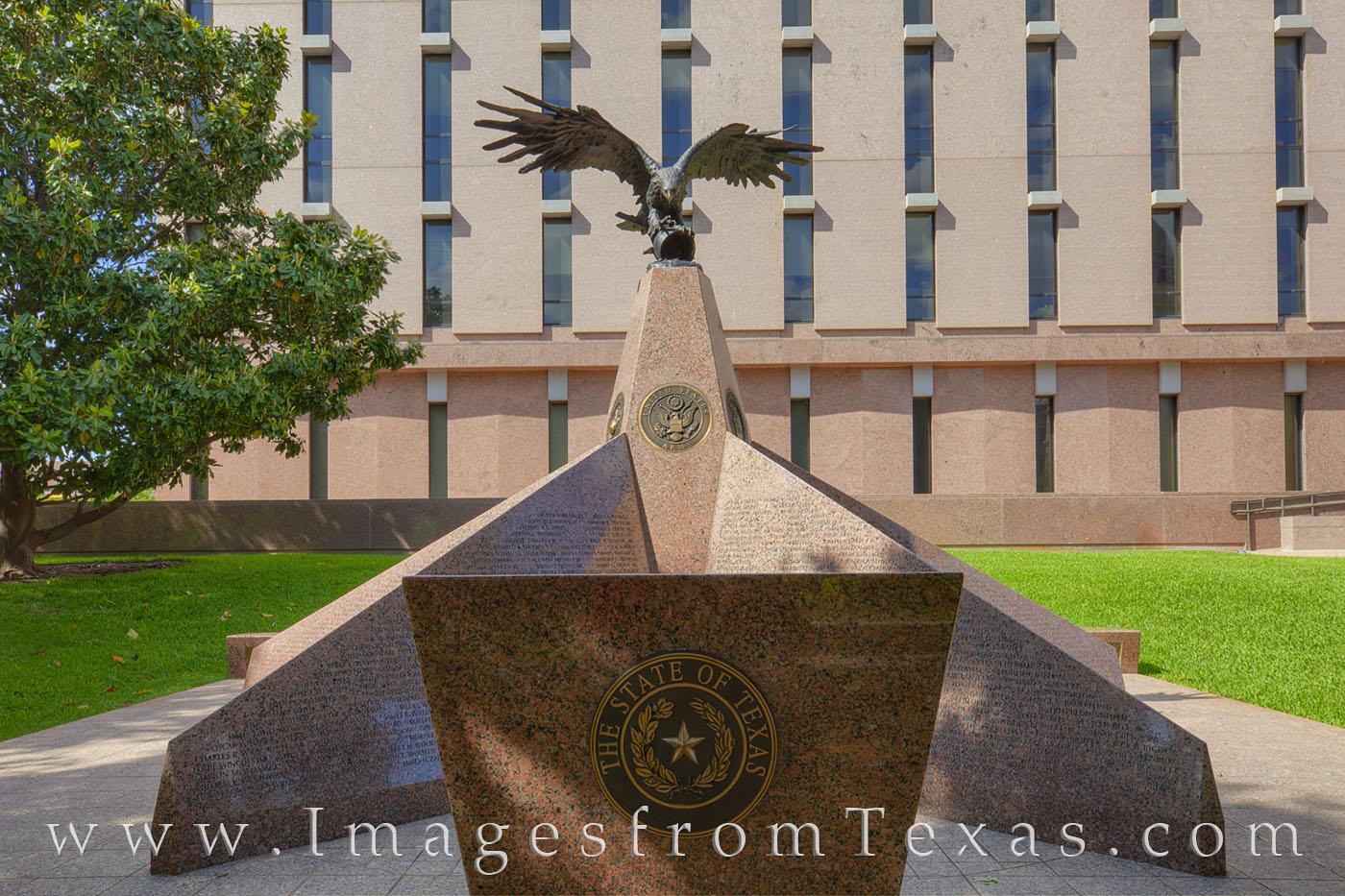 korean war monument, memorial, monument, texas capitol monument, korea, photo