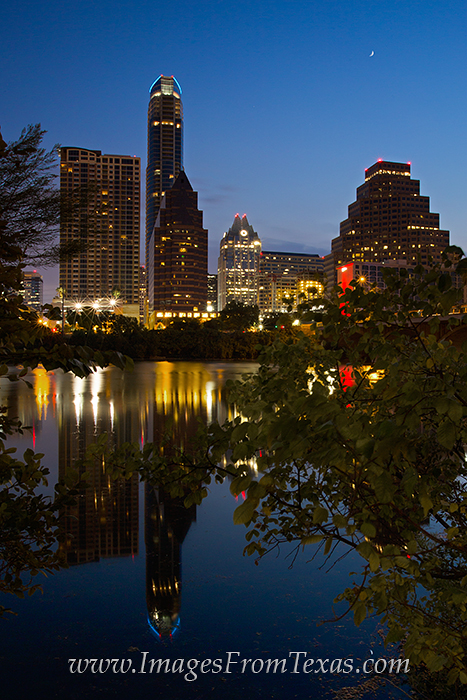 Lady Bird Lake images,Austin skyline,Austin cityscape,Austonian,Austin Hike and Bike Trail, photo