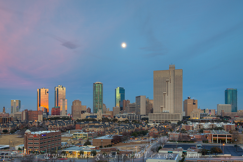 Ft Worth Pano,Ft Worth,ft worth skyline,fort worth cityscape,fTarrant County Courthouse,Wells Fargo Tower,D R Horton Tower,Fort Worth Tower,Ft Worth Tower,Carter and Burgess Tower,Burnett Plaza,AT&, photo