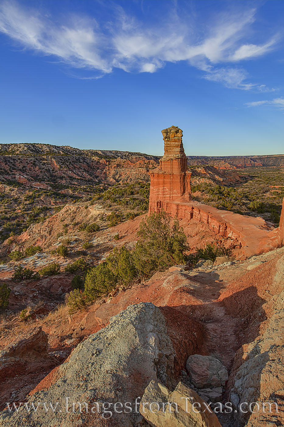 the Lighthouse, palo duro canyon, lighthouse trail, afternoon, hike, explore, panhandle, canyon, photo