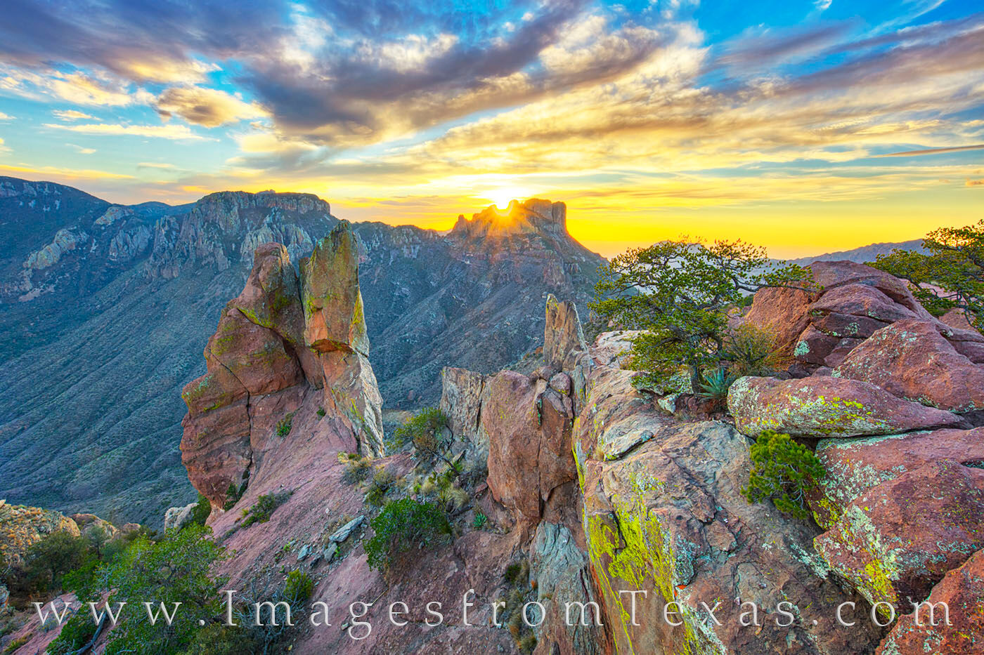 big bend national park, big bend images, lost mine trail, chisos mountains, texas national park, texas sunset, sunset, lost mine trail photos, hiking texas, texas hikes, photo