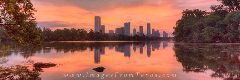 I wanted to show the beauty of this morning from Lou Neff Point and Lady Bird Lake with the skyline in the distance. This Austin...