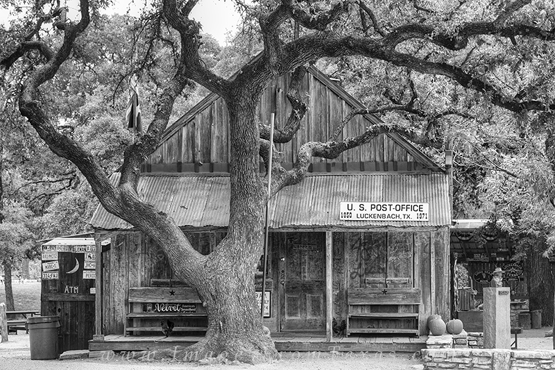 black and white,texas,luckenbach,hill country, photo
