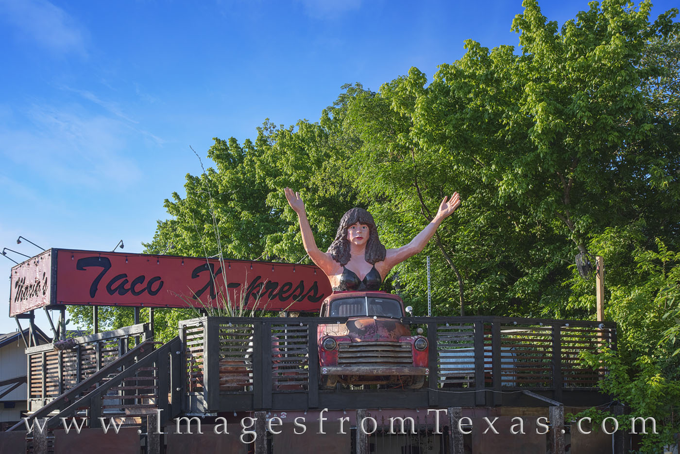 Maria's Taco Express offers breakfast, lunch and dinner for those hungry locals and travelers alike. Located in South Austin...