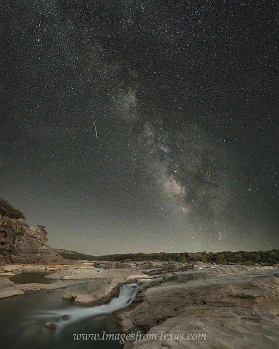 texas hill country,pedernales falls state park,pedernales falls,milky way images,milky way prints,texas hill country prints, photo