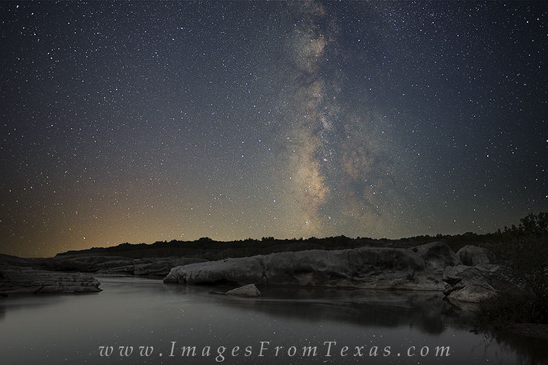 pedernales falls state park,texas hill country,Milky Way,Texas landscapes, photo