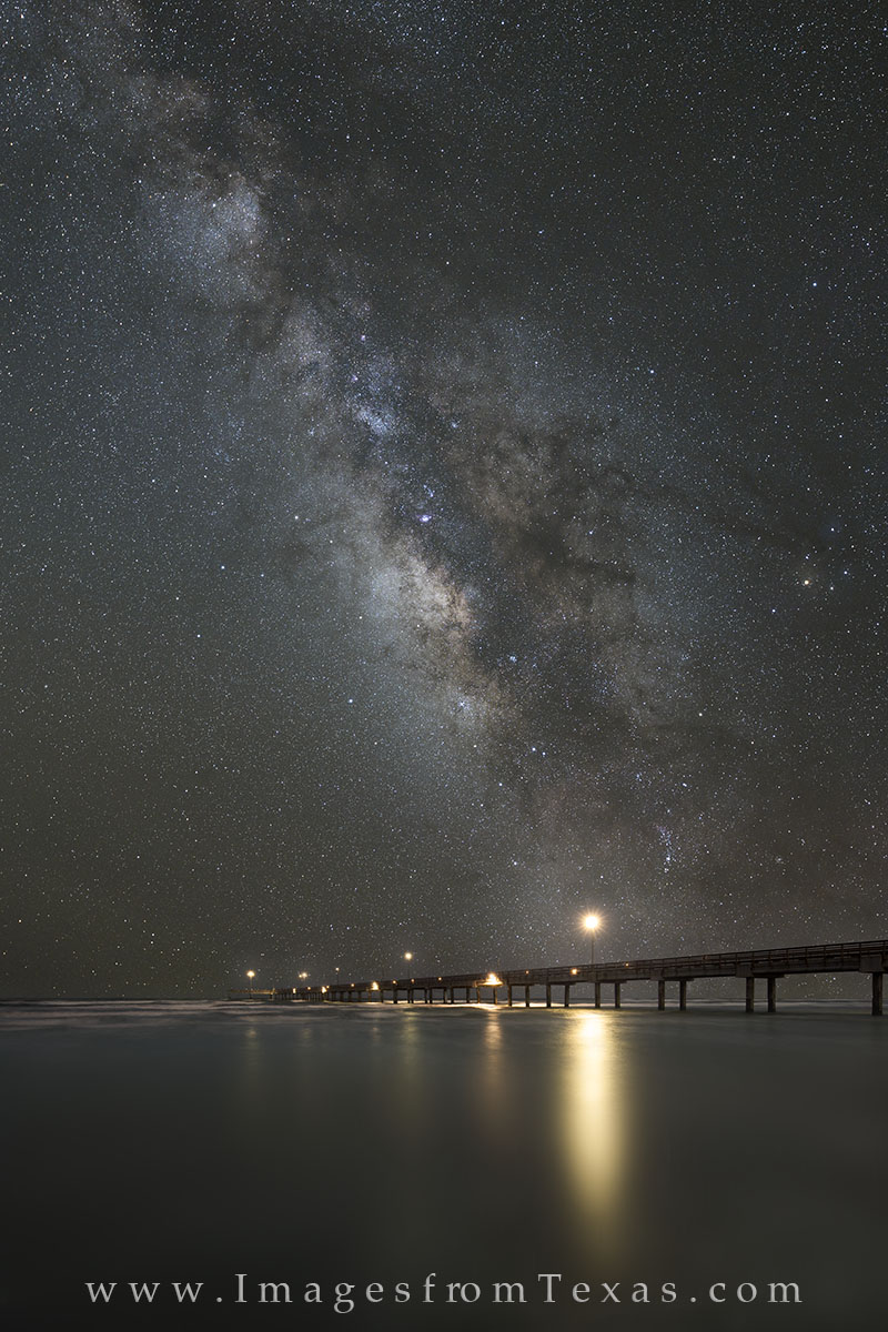 port aransas, milky way, port aransas prints, port aransas beach, port aransas night sky, texas night sky, photo