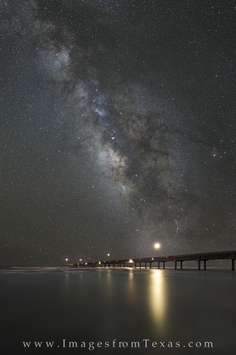 port aransas, milky way, port aransas prints, port aransas beach, port aransas night sky, texas night sky, photo