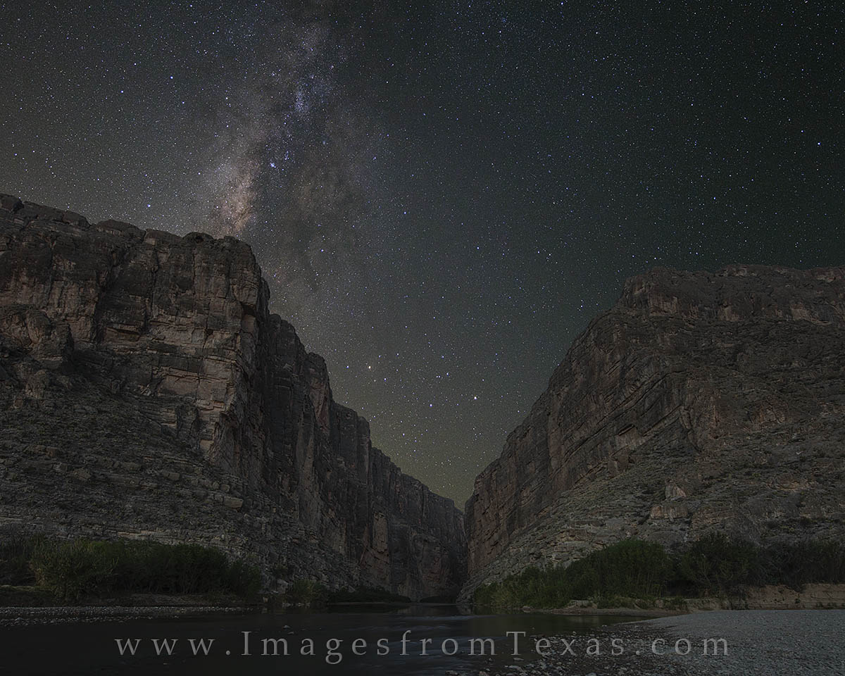 milky way photos, santa elena canyon, big bend national park, texas skies, dark skies in texas, milky way, photo